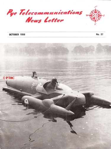 Pye Reporter 1956 - Bluebird breaks world