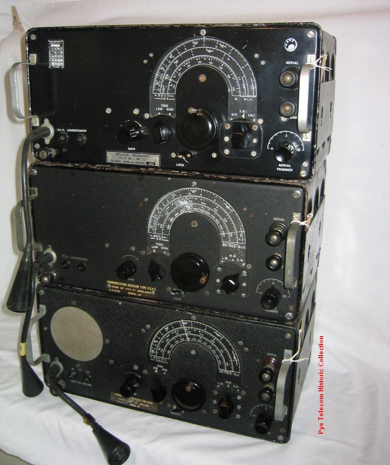pye telecom product history  military